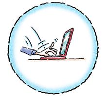 Sharing Image - Icon - Laptop - Register - International