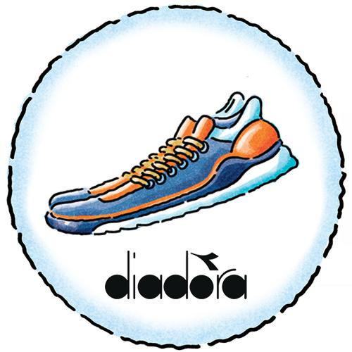 Sharing Image - Icon - Fitness - Diadora Shoe- Italy
