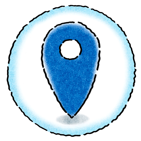 Sharing Image - Icon - Pin - International