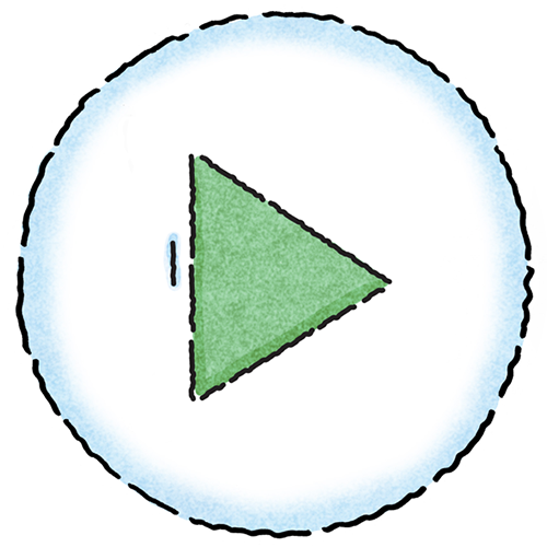 Sharing Image - Icon - Start - Play - International