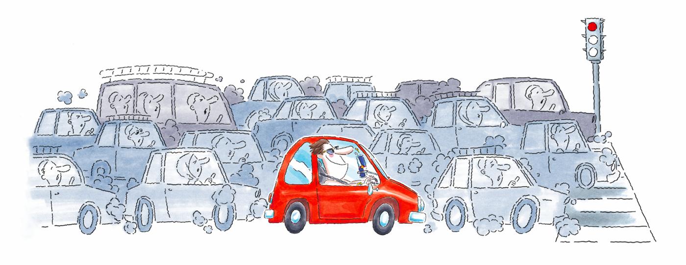 TR - Driving Traffic